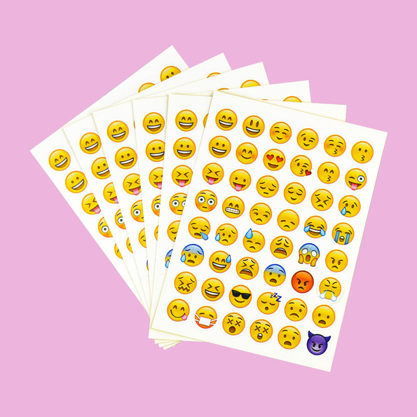 Emoji sticker set
