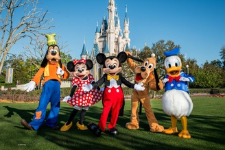 Top 5 Things To Do in Walt Disney World, Florida