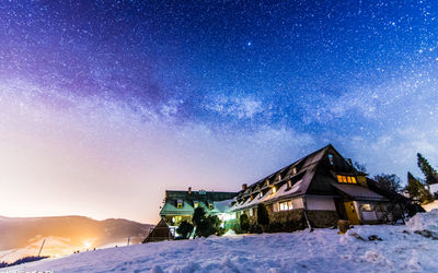 Milky Way over Durbaszka