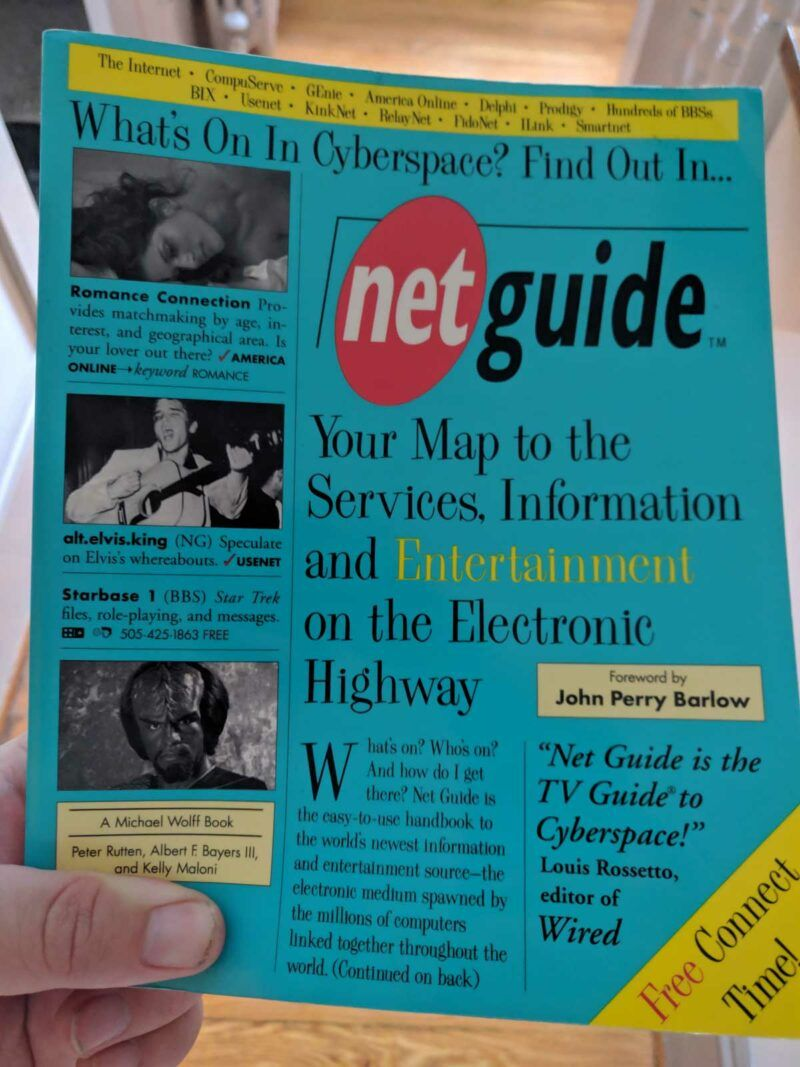 A copy of Wolff's netGuide
