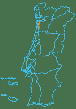 Mapa AEDL
