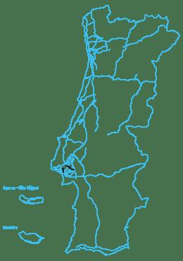 Mapa Lusoponte