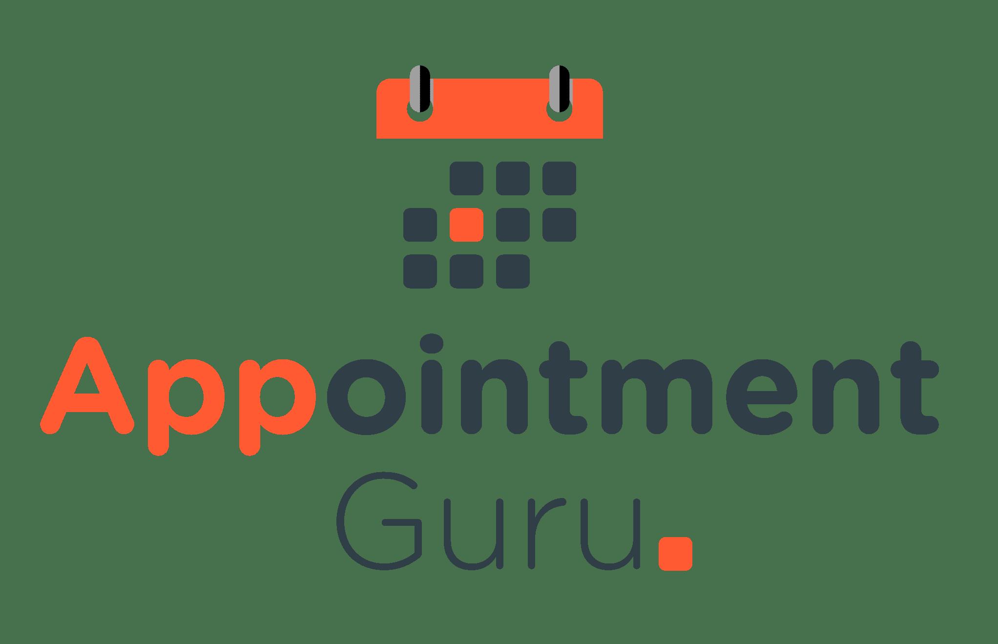 AppointmentGuru logo - vertical