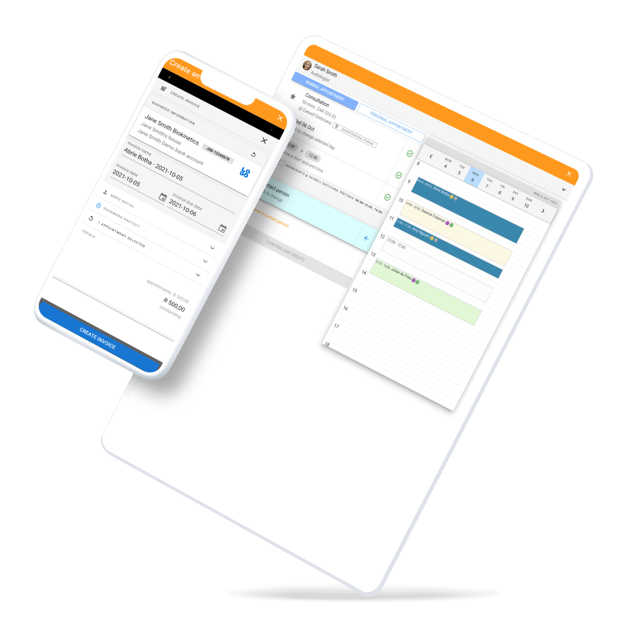 Manage your business on the go