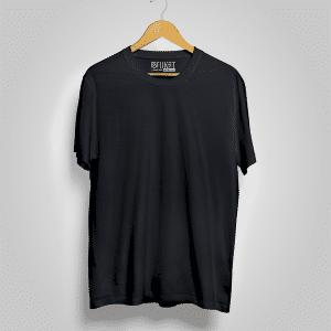 Black Half Sleeve Tshirt