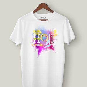 Happy Holi Half Sleeve T-Shirt
