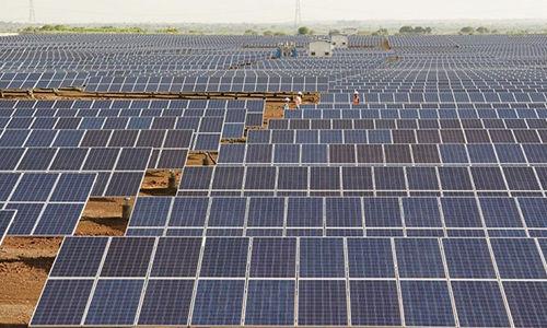 Solar farm company in India