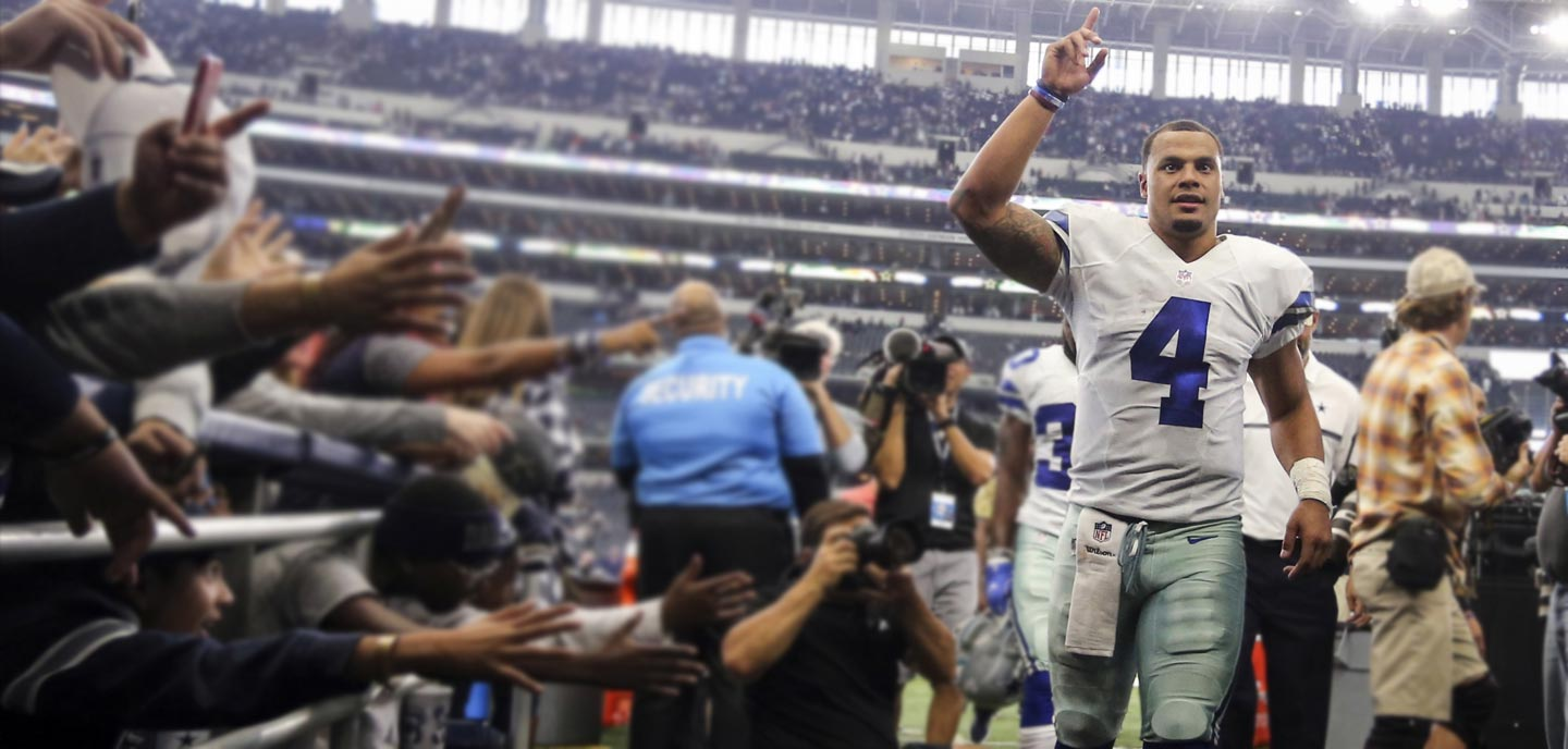 What's Right/Wrong with Dak Prescott Picking Up Trash?