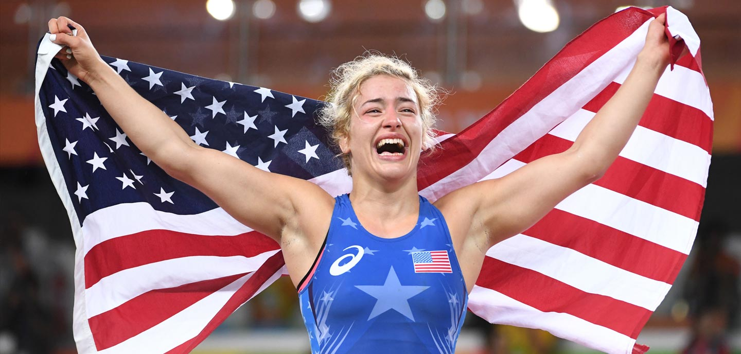 The Truth That Helped Helen Maroulis Transcend Gold