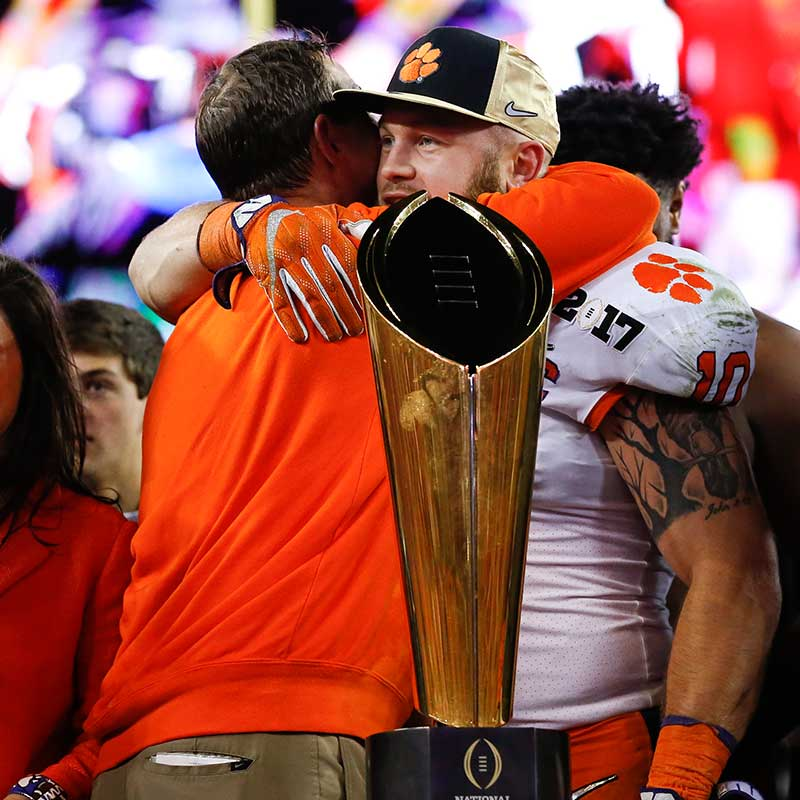 Clemson Football and the Motivation of Love