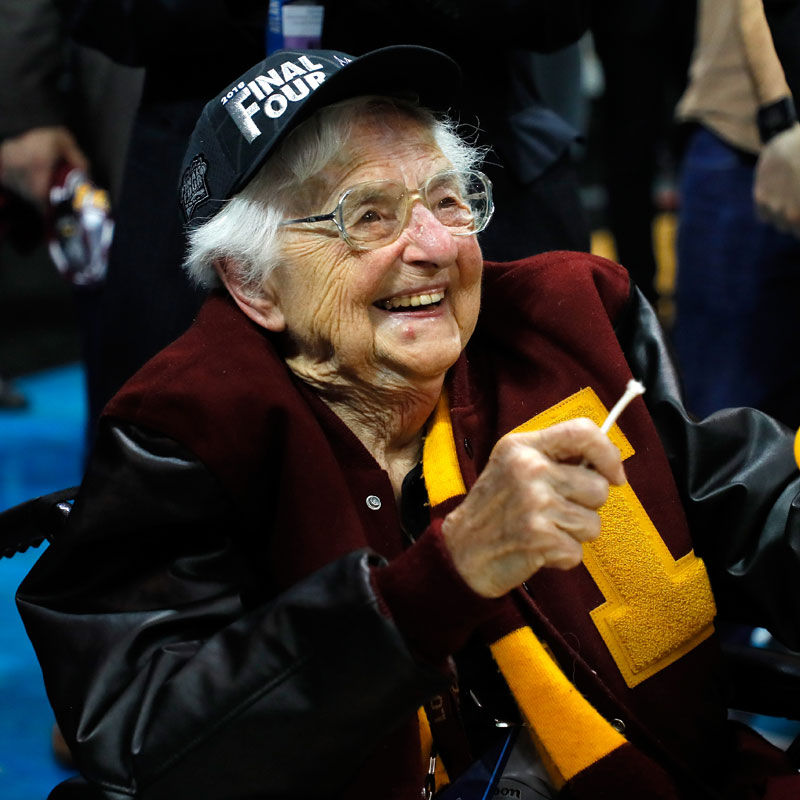 Every Team Needs a Sister Jean