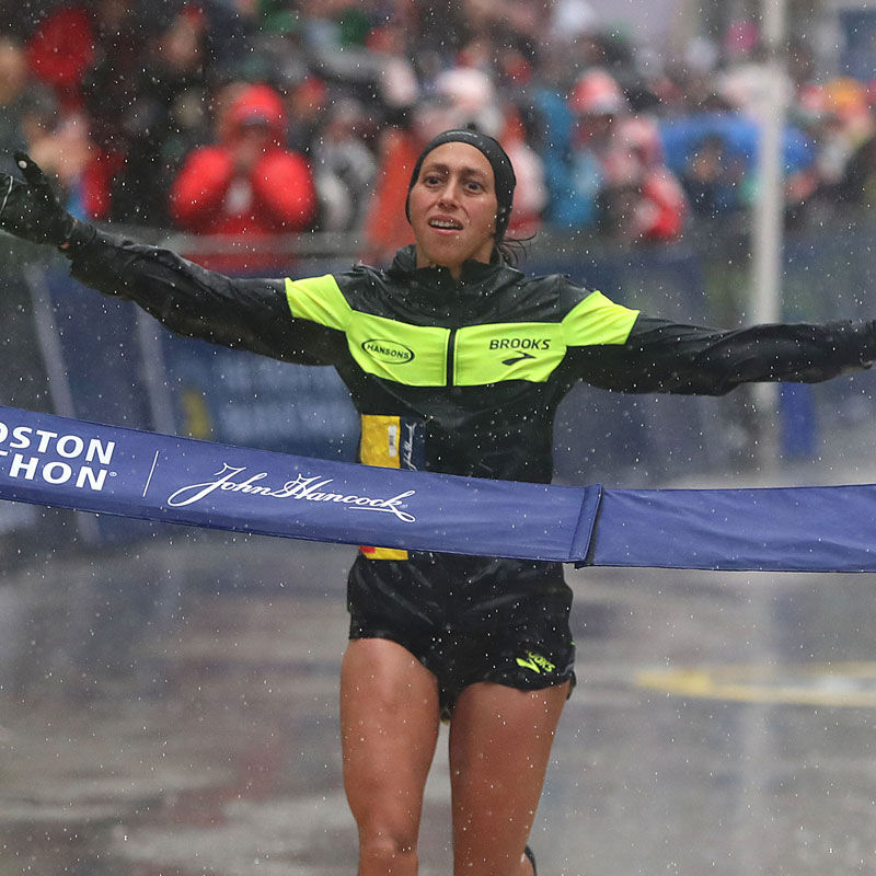 Let's Talk About Desiree Linden's Boston Marathon Moment