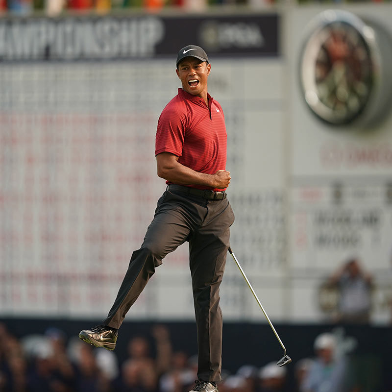 The Transformation of Tiger Woods