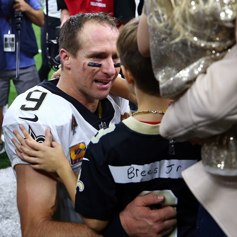 What I Wish Drew Brees Had Whispered to His Boys