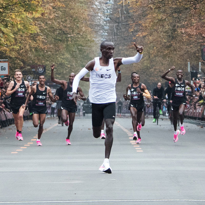 Eliud Kipchoge Makes History With Community