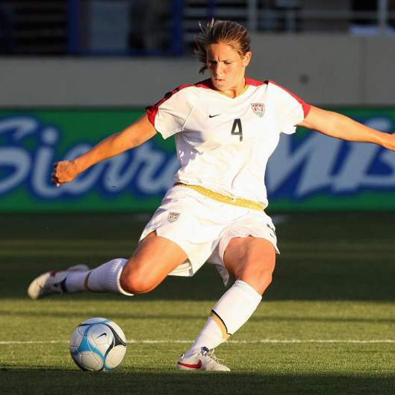 Q&A: Cat Whitehill On Soccer, Success And Strength