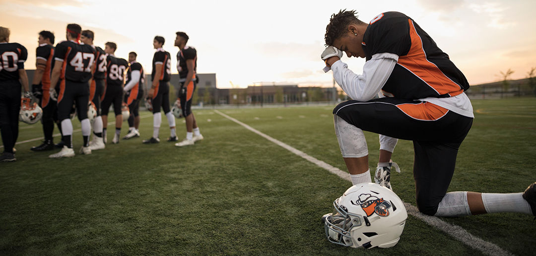 Only Christian Athlete On Your Team? Do These 3 Things.