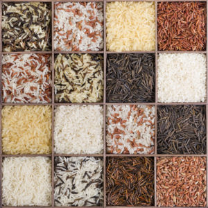 Healthy types of rice