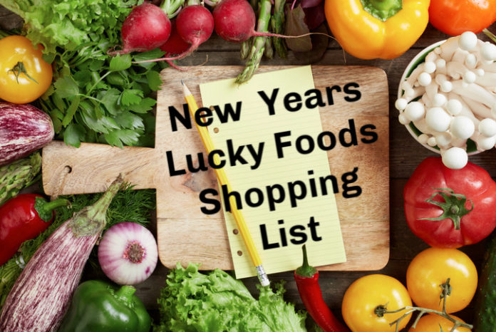 New Years Lucky Foods Shopping List