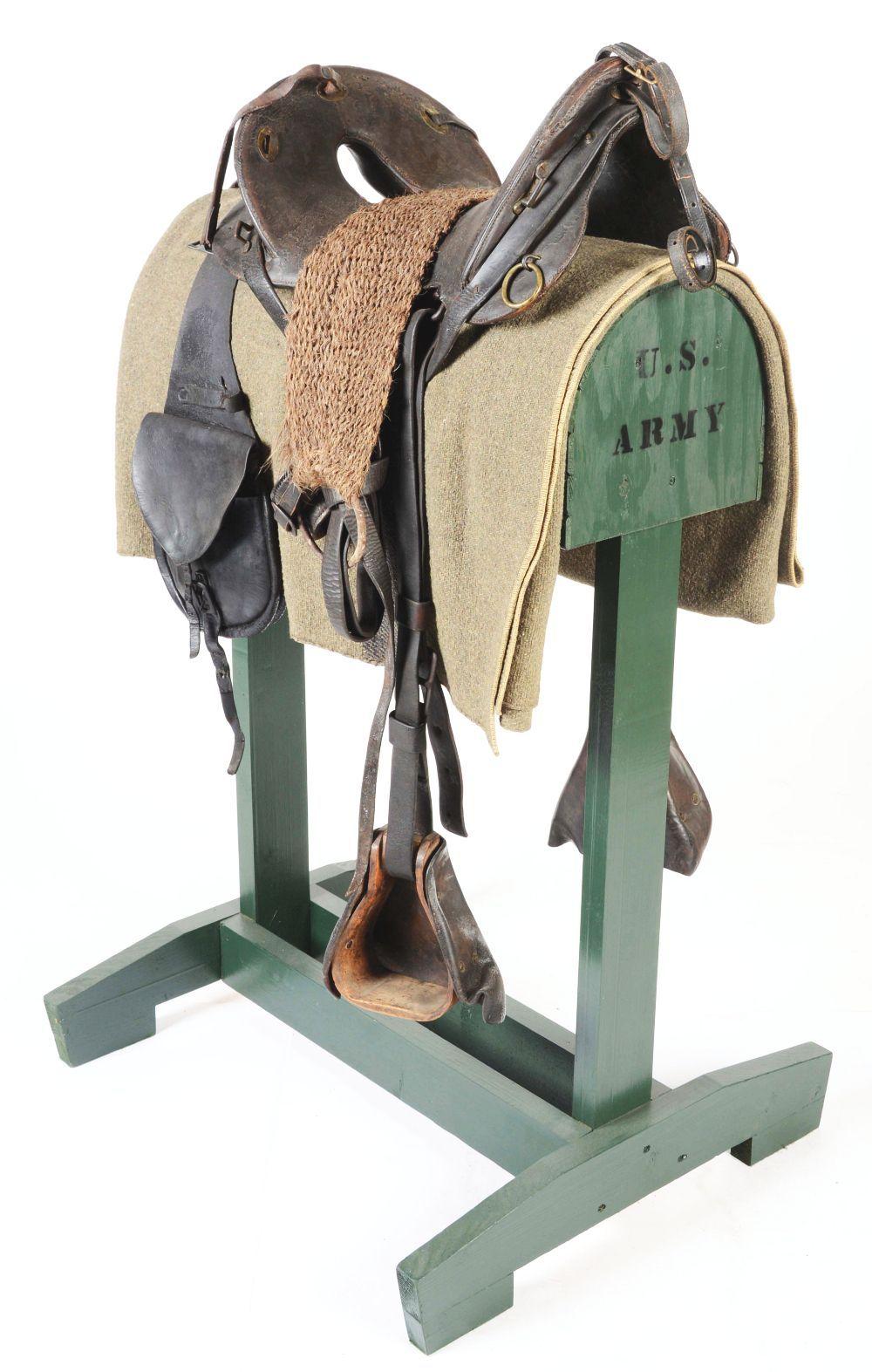 MODEL 1874 MCCLELLAN SADDLE ENSEMBLE WITH STAND    Thirdman