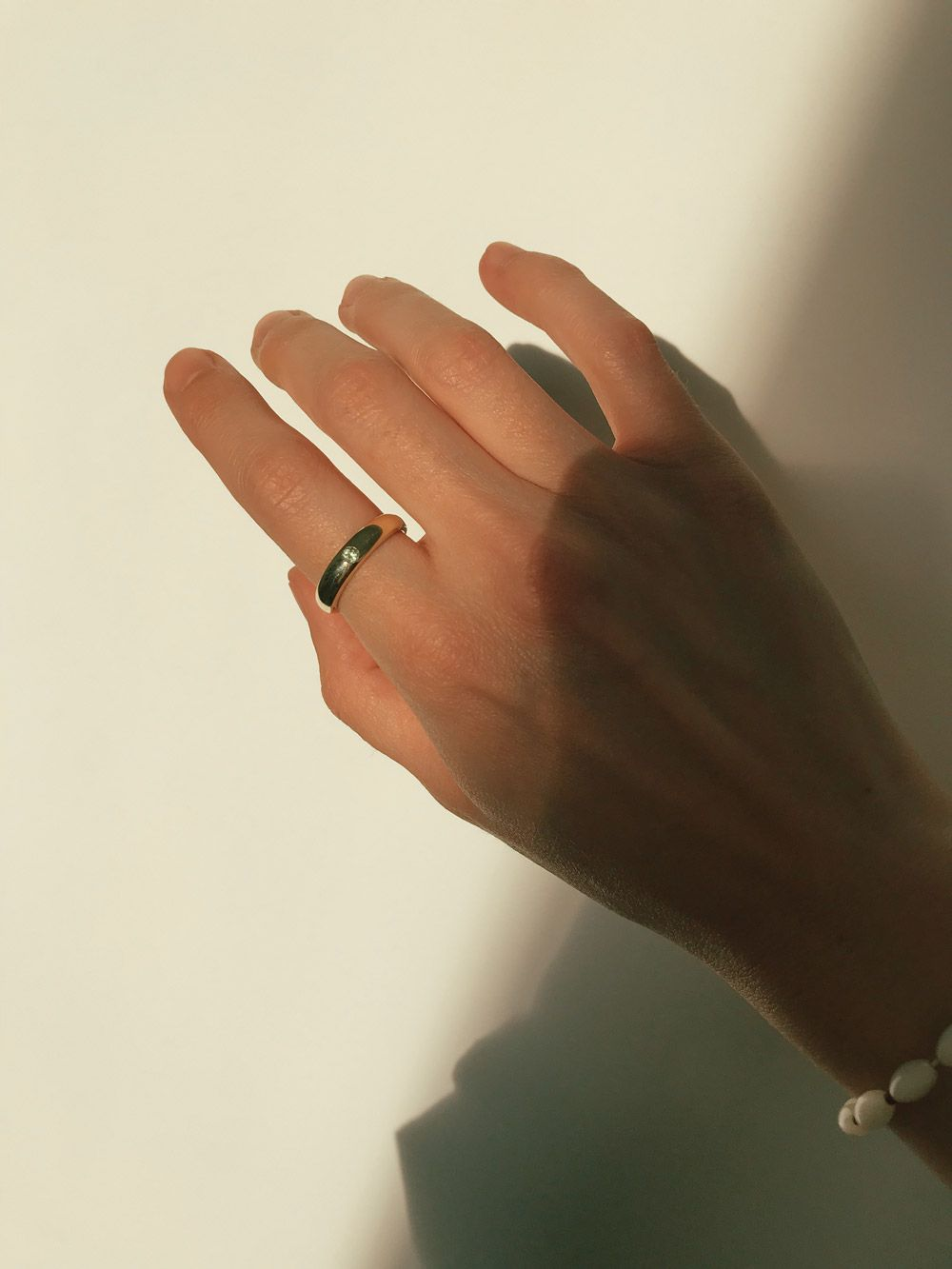 Look by Coco And Kinney Peridot Amy Alexandra ring in gold
