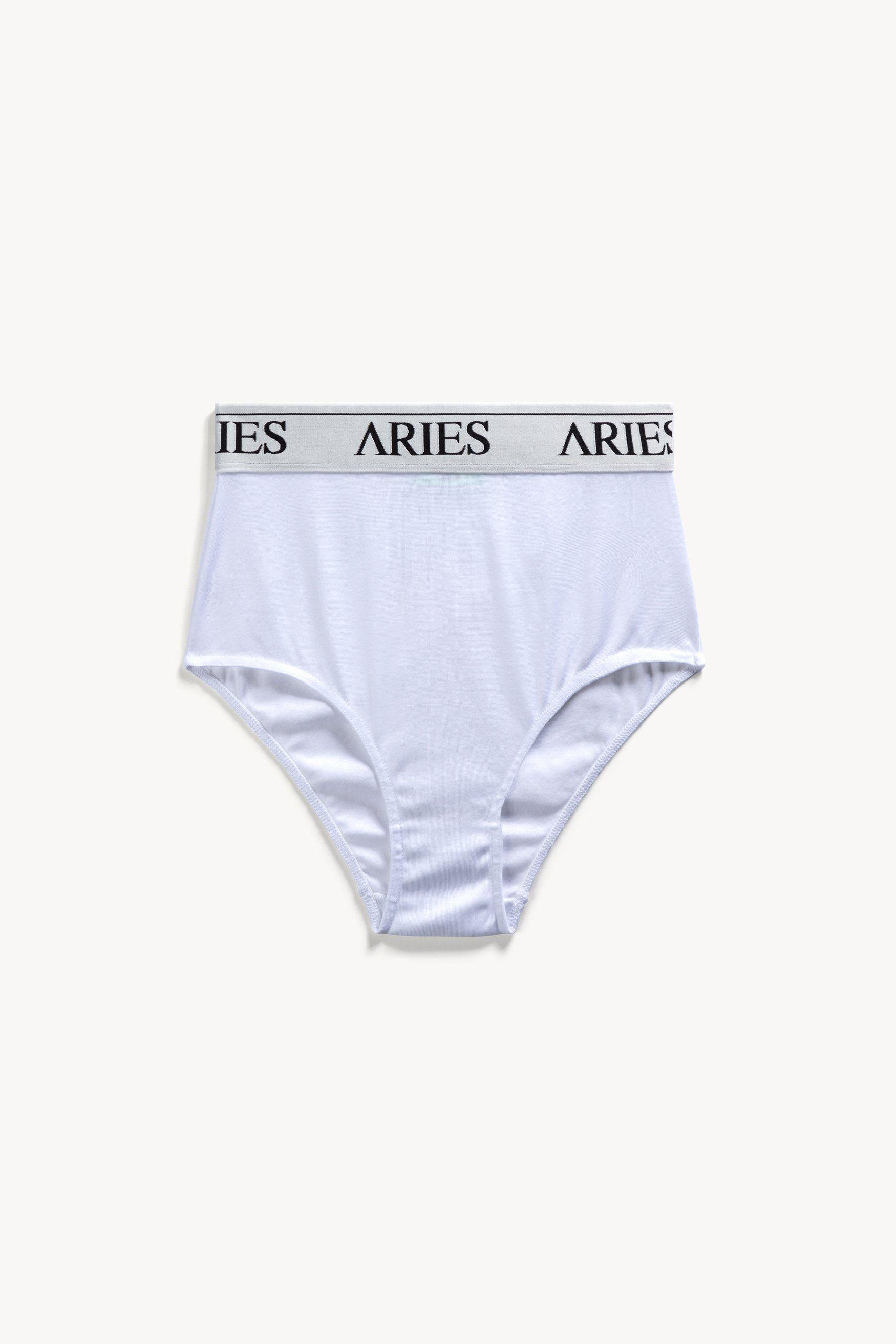 High Waist Cotton Briefs – Aries