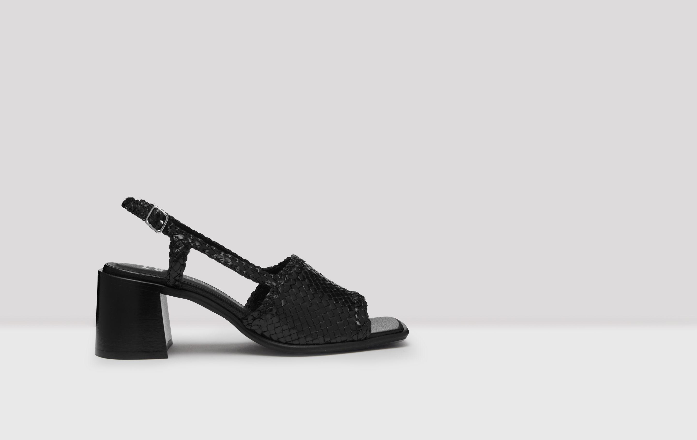 pavati black woven sandals e by e sandals