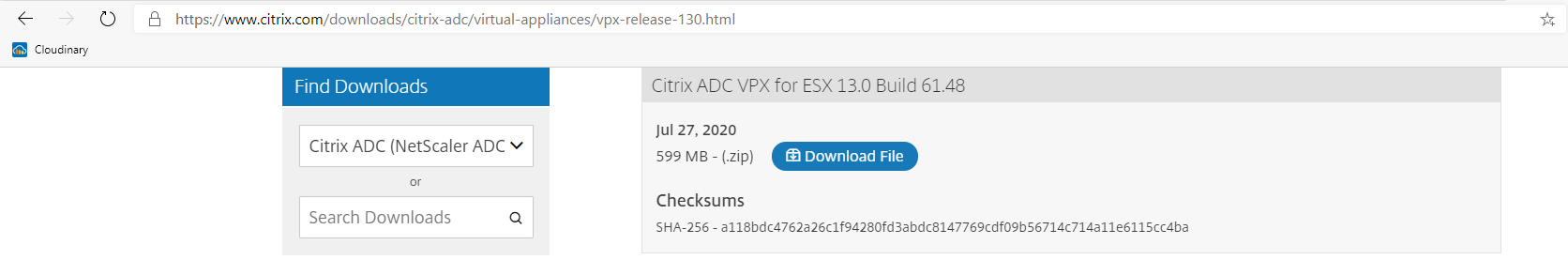 Provision Citrix NetScaler VPX with CLI