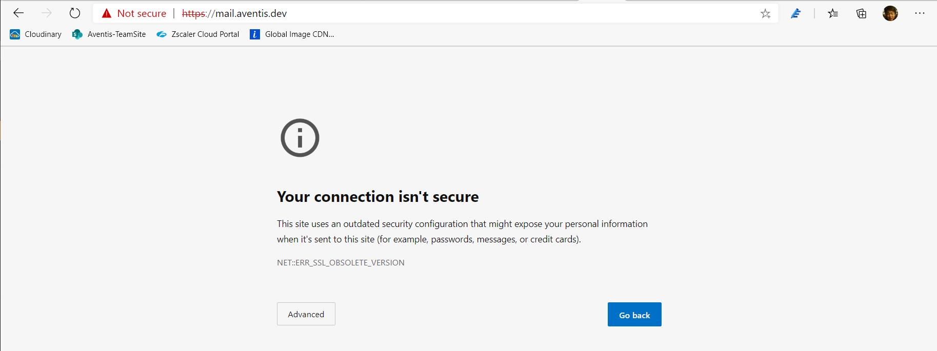 Enable TLS 1.2 in Exchange 2010