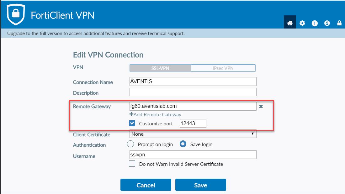 Configure Remote SSL VPN in FortiGate with CLI