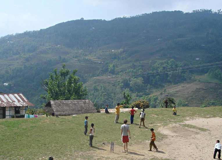 The scenery in India is beautiful whilst playing cricket, escape to India on your Gap year
