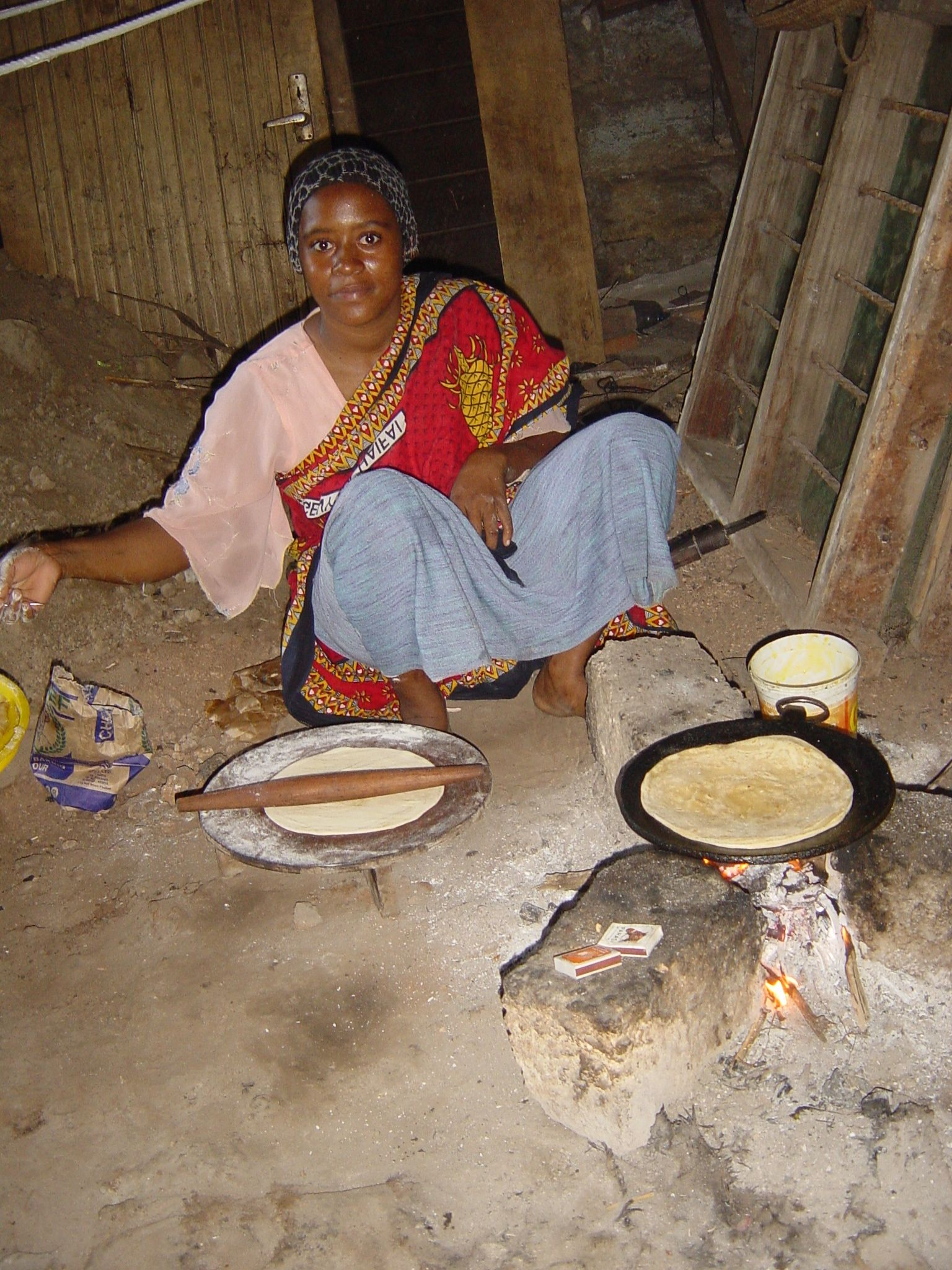 cooking when you travel in Africa