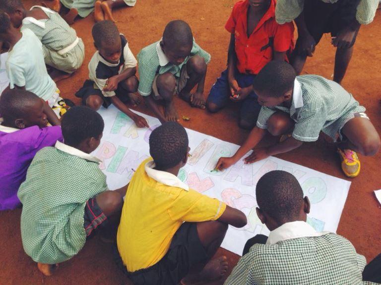 Volunteer on community projects on an AV gap year program