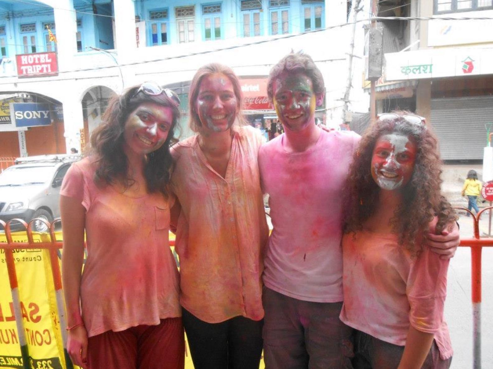 Do a festival on your Gap Year to India