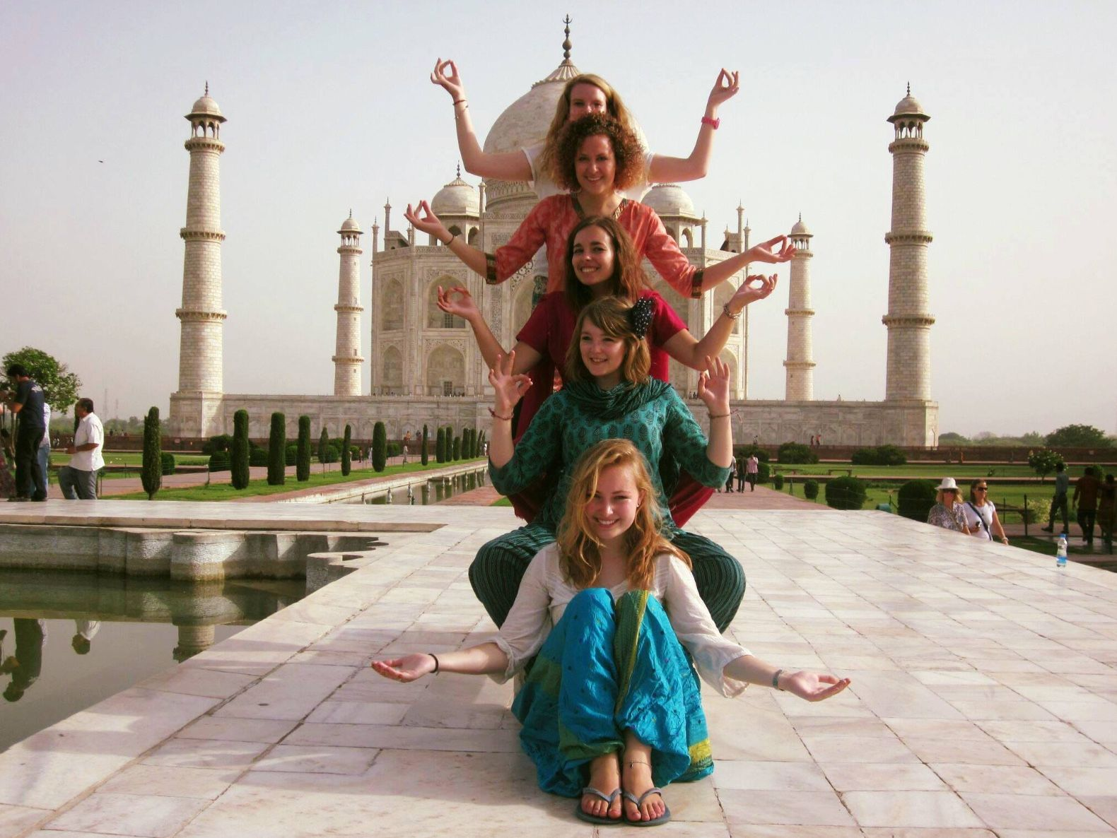 See the Taj Mahal during a Gap Year in India