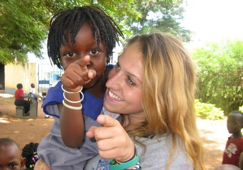 AV summer gap year program in Uganda