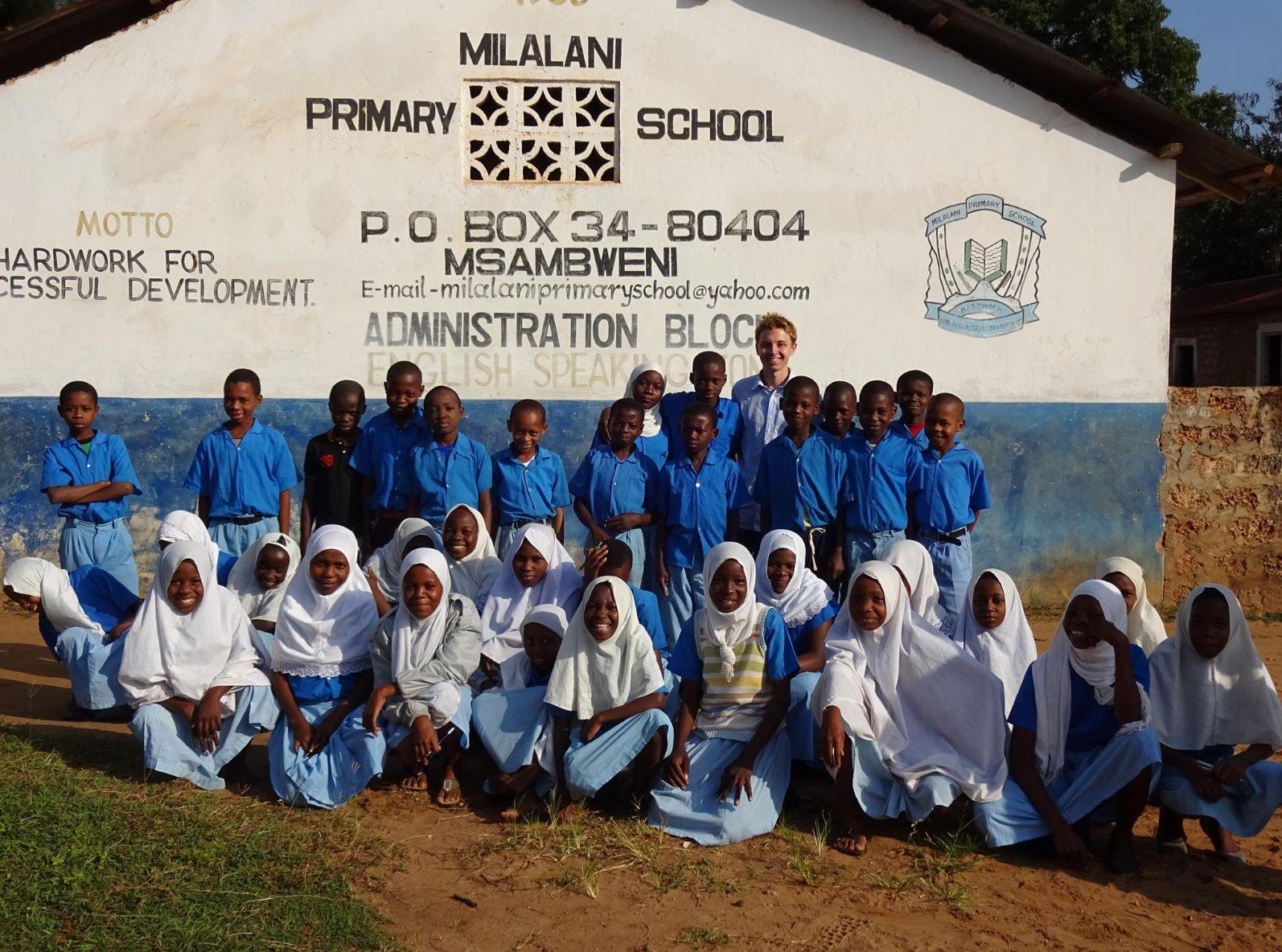 William Grice on work experience in Kenya 2016