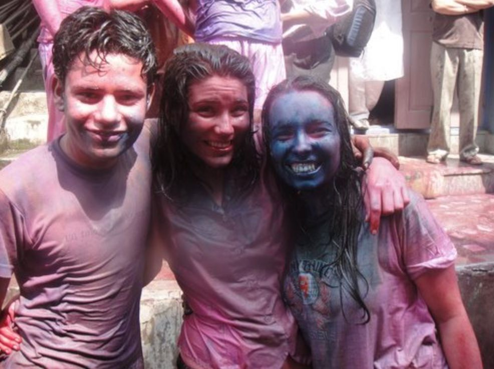 Holi Festival - Gap Year India