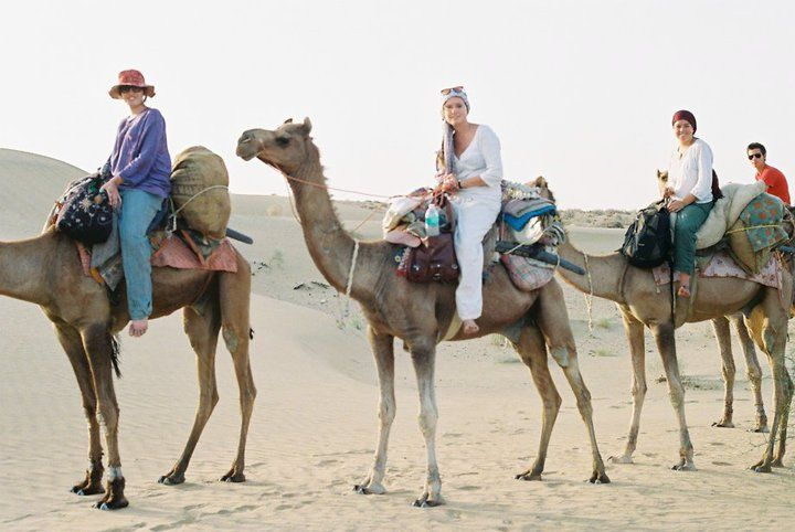 camel safari in Asia