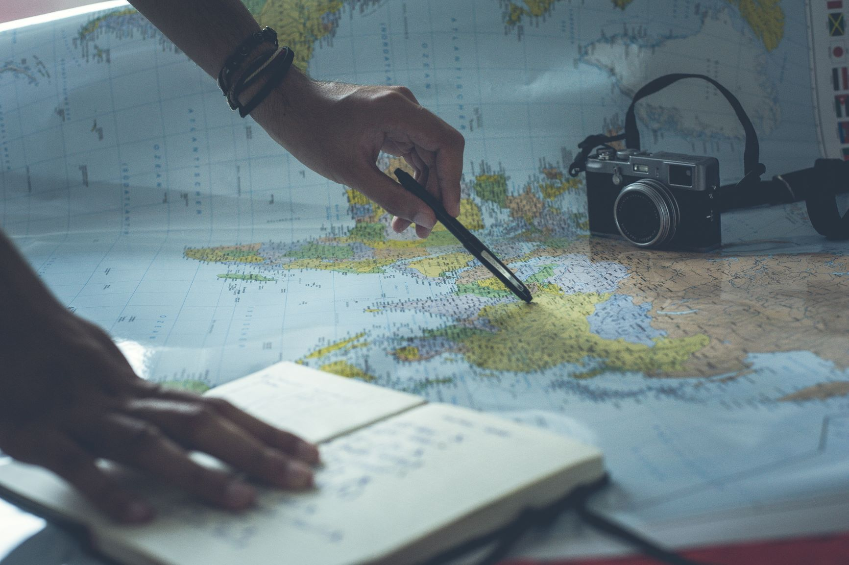 Map out your future travel plans!