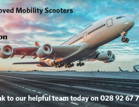 Airline approved mobility scooters Tel 028 92 67 70 77