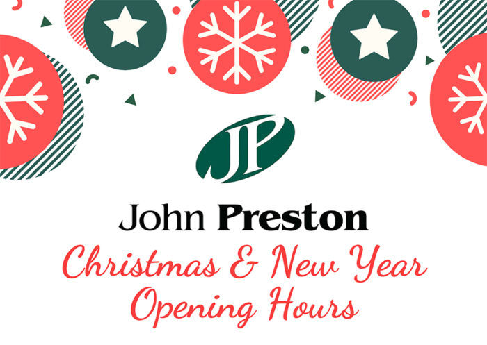 john-preston-christmas-opening-hours