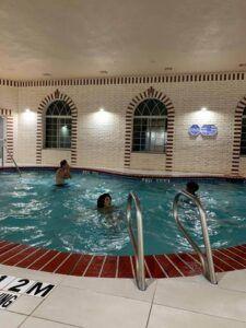 Pool at the Holiday Inn Express Amarillo