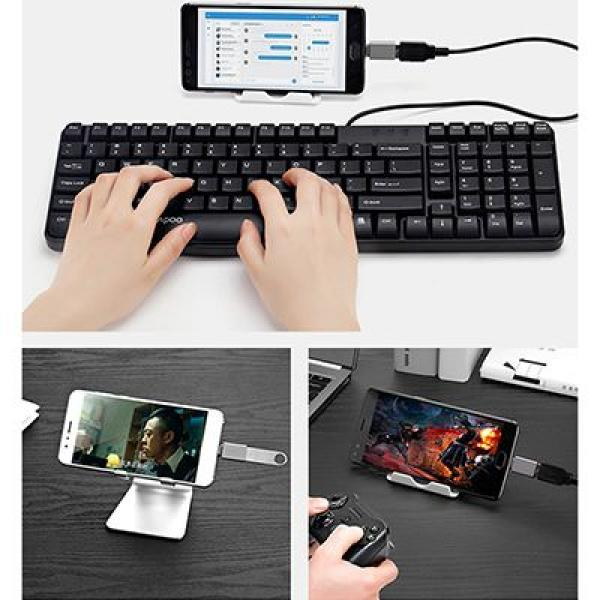 Tronsmart USB to Type C Adapter Electronics & Technology Computer & Mobile Accessories Best Deals EMA1007_SpaceGrey3Thumb