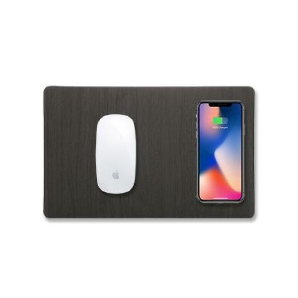 Powerplay Mouse Pad with Wireless Charger Electronics & Technology Computer & Mobile Accessories Best Deals CLEARANCE SALE EMO1022_FunctionThumb1