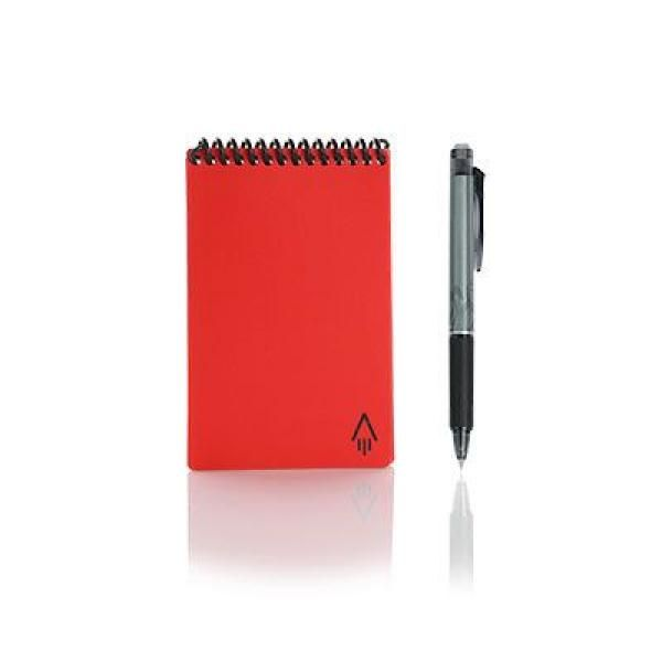 Rocketbook Mini Office Supplies Other Office Supplies Crowdfunded Gifts Back To Work Eco Friendly ZNO1040RED