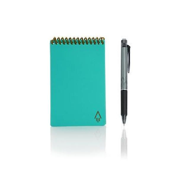 Rocketbook Mini Office Supplies Other Office Supplies Crowdfunded Gifts Back To Work Eco Friendly ZNO1040LBLU
