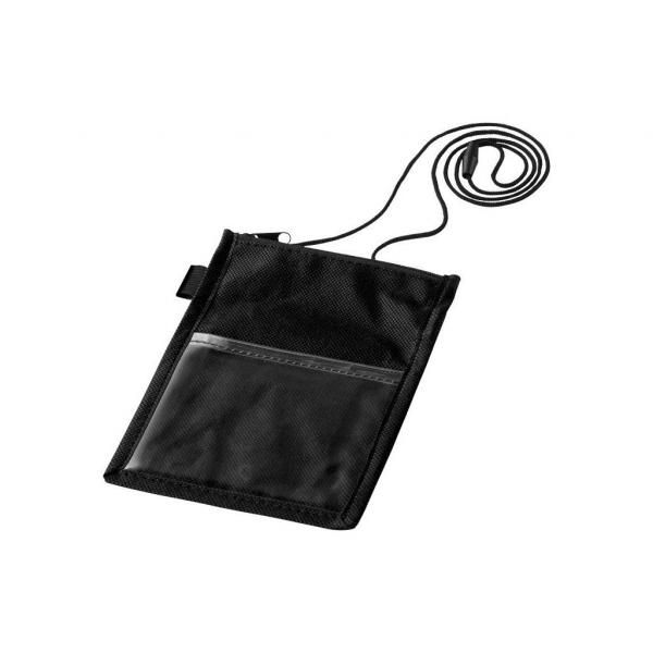 Non Wowen Identify Badge Holder Electronics & Technology Computer & Mobile Accessories Small Pouch Bags Lanyards & Pull Reels DLO6001BLK-1