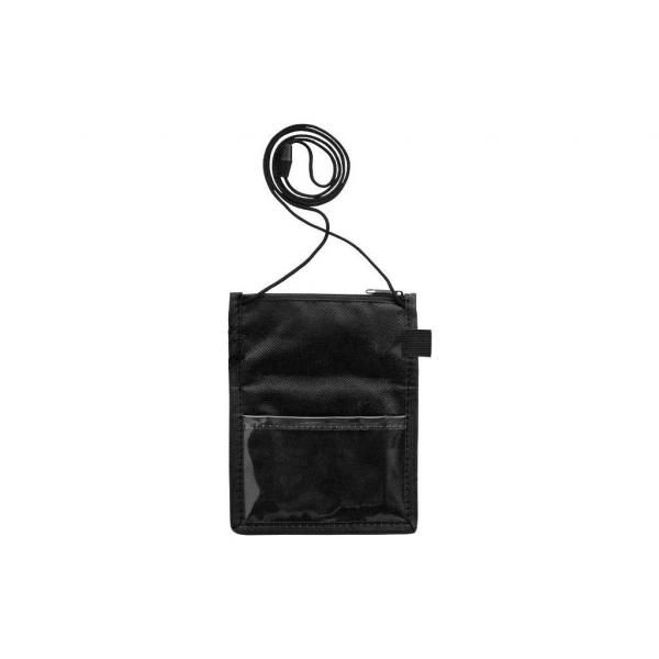 Non Wowen Identify Badge Holder Electronics & Technology Computer & Mobile Accessories Small Pouch Bags Lanyards & Pull Reels DLO6001BLK-3