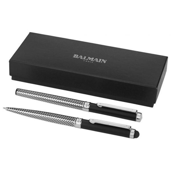 Empire Duo Metal Pen Gift Set Office Supplies Pen & Pencils Stationery Sets FPM6025SWB-1